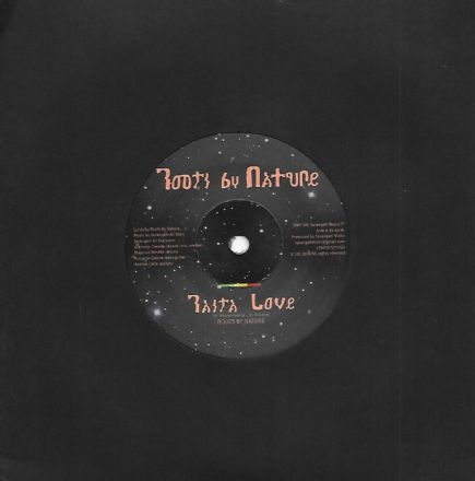 Roots By Nature - Rasta Love / Gianni Denitto - Saxaphone Love (Roots By Nature) 7""